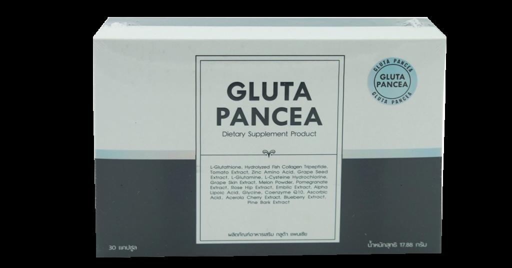 ผลิตภัณฑ์เสริมอาหาร Gluta Pancea