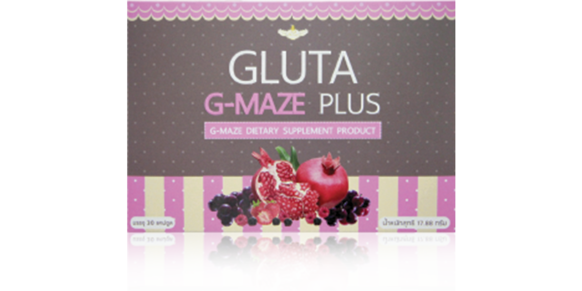 ผลิตภัณฑ์เสริมอาหาร Gluta G-Maze Plus