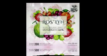 ผลิตภัณฑ์เสริมอาหาร Ros'lyn