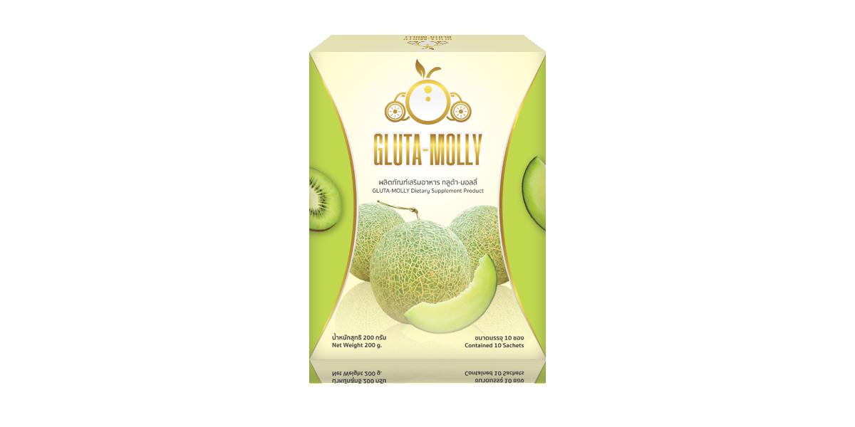 อาหารเสริม Gluta Molly