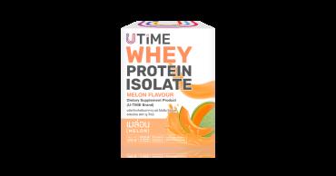 อาหารเสริม เวย์โปรตีนไอโซเลท รสเมล่อน (U-TIME Brand)
